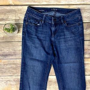 LOFT Jeans - Ann Taylor LOFT Curvy Sexy Boot Cut Denim Jeans